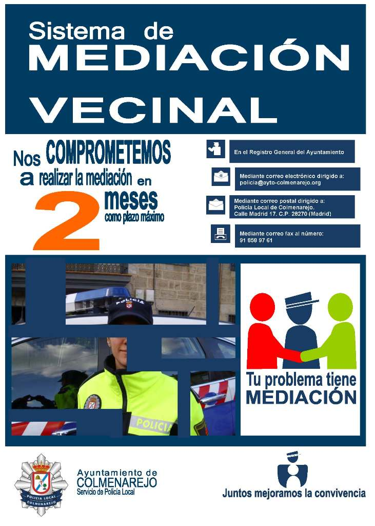 Cartel Mediacion Vecinal