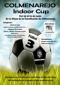 Cartel Fútbol Indoor