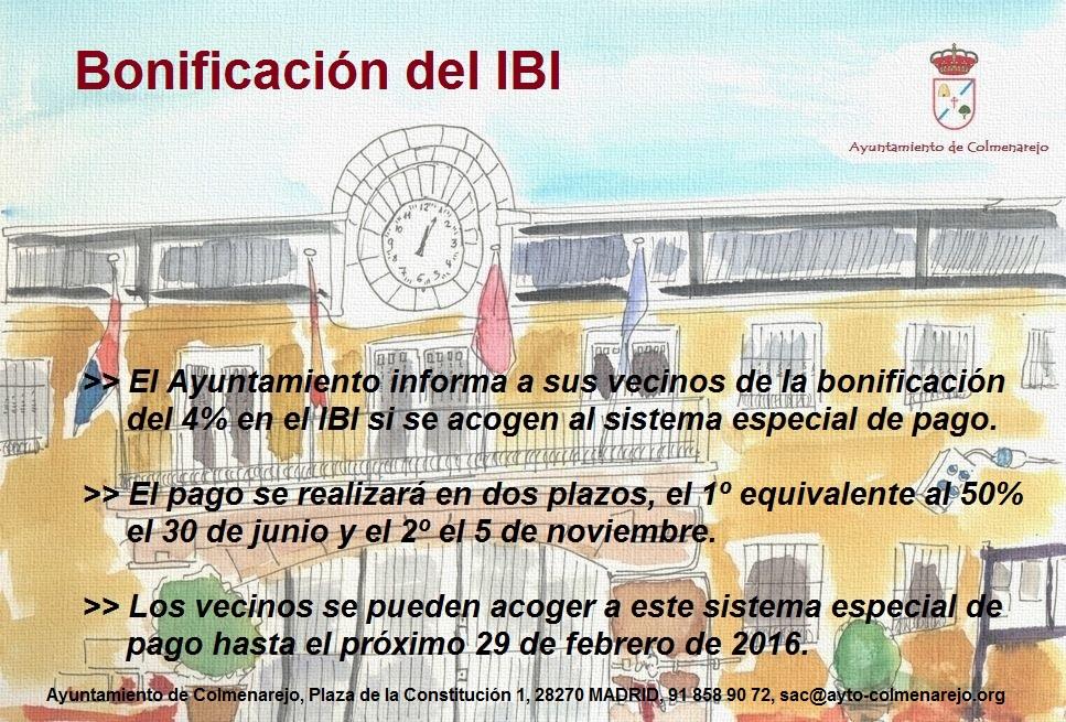 Bonificacion IBI