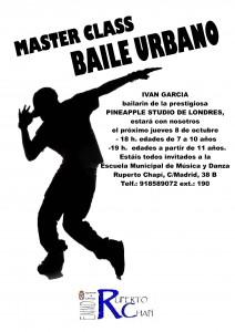 Master Class Baile Urbano
