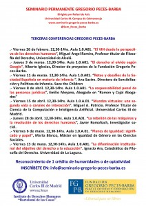 Cartel Terceras Conferencias