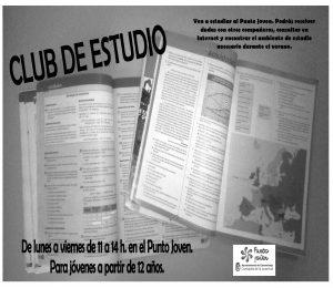 Cartel Club de Estudio