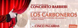 Preestreno Benéfico Concierto Barbieri @ Teatro de Colmenarejo