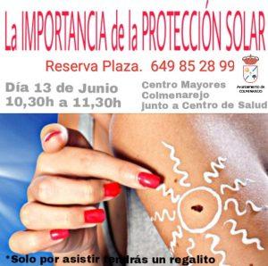 """CHARLA MAYORES """"La importancia de la PROTECCIÓN SOLAR"""" @ CENTRO DE MAYORES"""