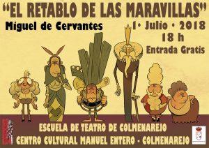 Teatro: El retablo de las maravillas, de Cervantes @ Centro Cultural de Colmenarejo