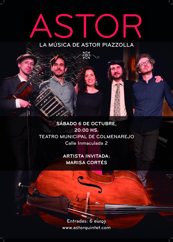 20h. ASTOR La música de Astor Piazzolla @ Teatro Municipal | Colmenarejo | Comunidad de Madrid | España