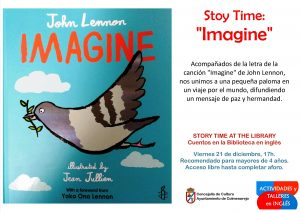 "Story Time at the library "" Imagine "" @ Biblioteca Municipal"
