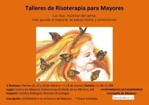 Mayores: Taller de Risoterapia @ CENTRO DE MAYORES