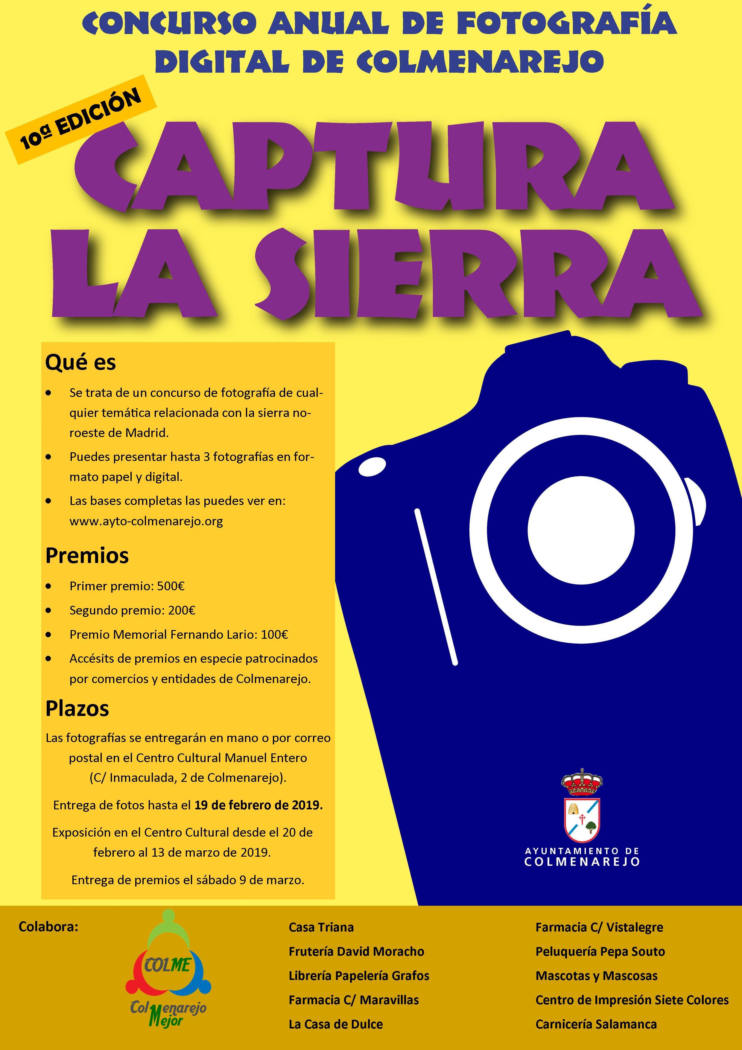 Exposición del X CONCURSO CAPTURA LA SIERRA @ Sala de Exposiciones