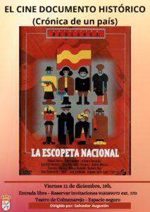Cine histórico: LA ESCOPETA NACIONAL @ Teatro de Colmenarejo