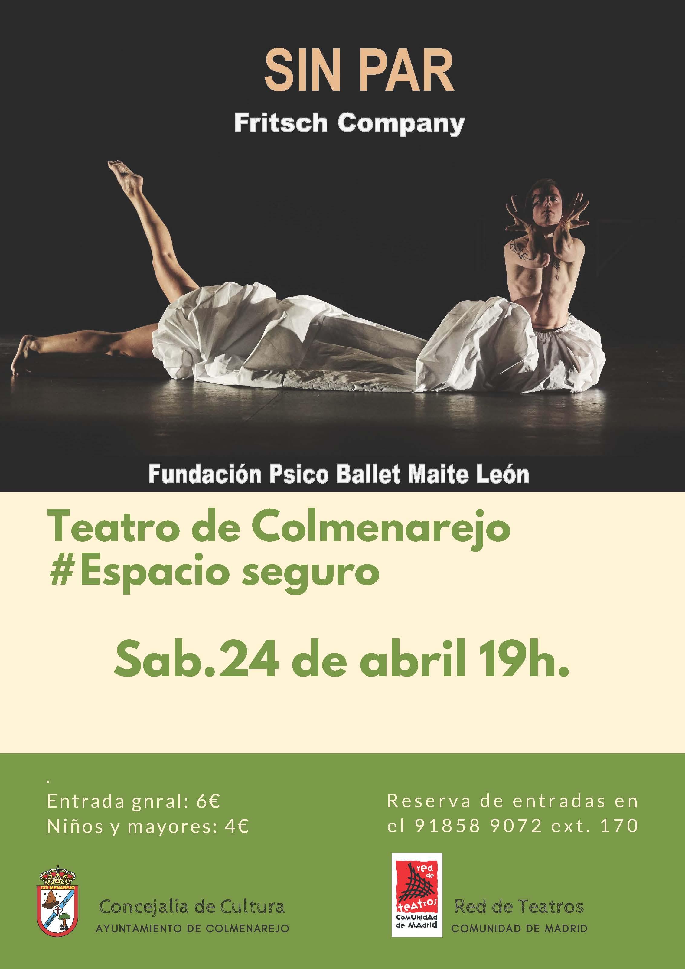 Fundación Psicoballet: SIN PAR @ Teatro de Colmenarejo