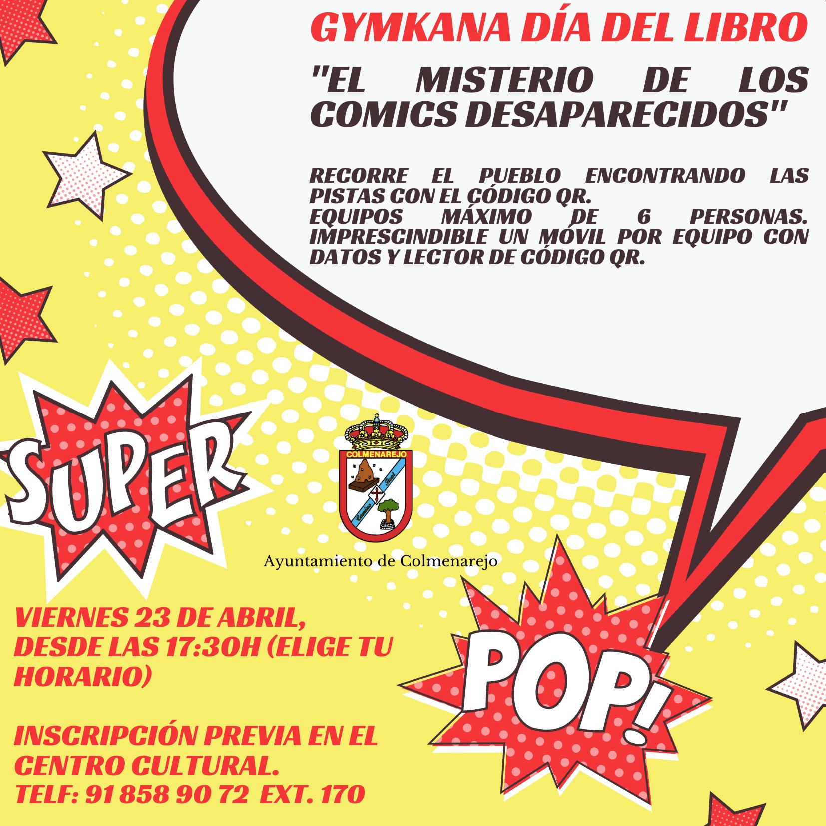 Gymkana: DÍA DEL LIBRO @ Centro Cultural