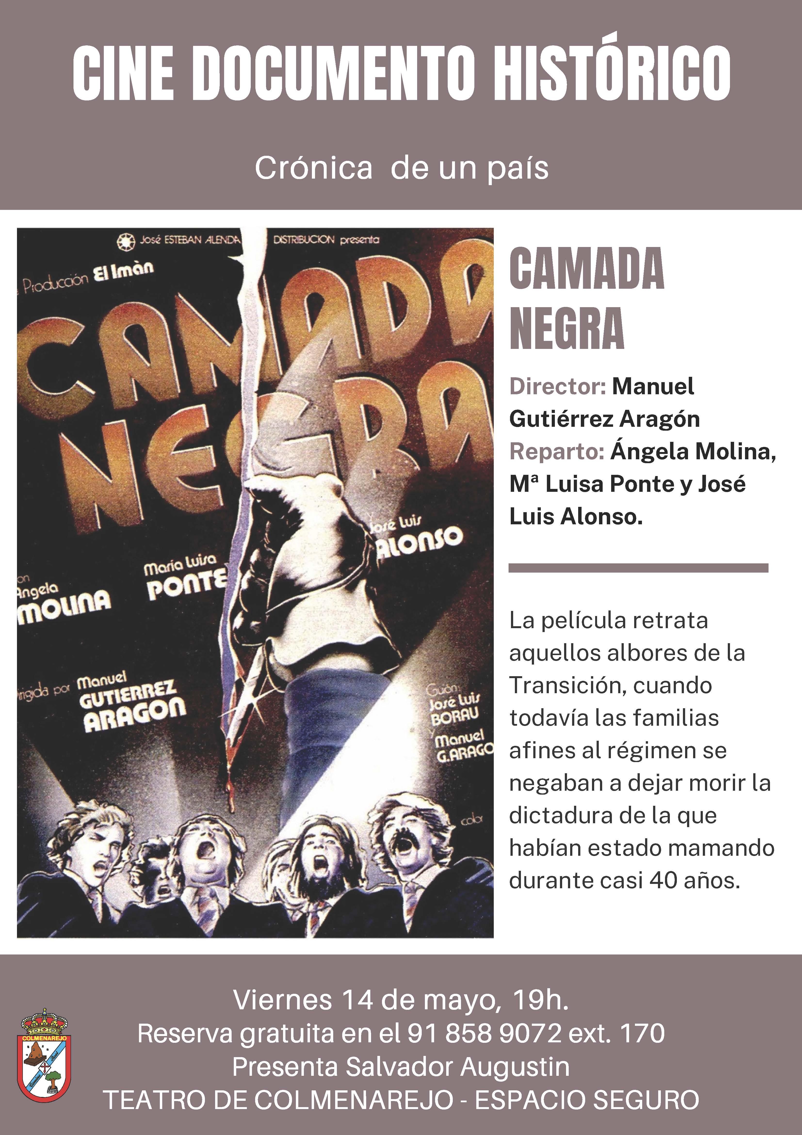 Cine y Transición: CAMADA NEGRA @ Teatro de Colmenarejo