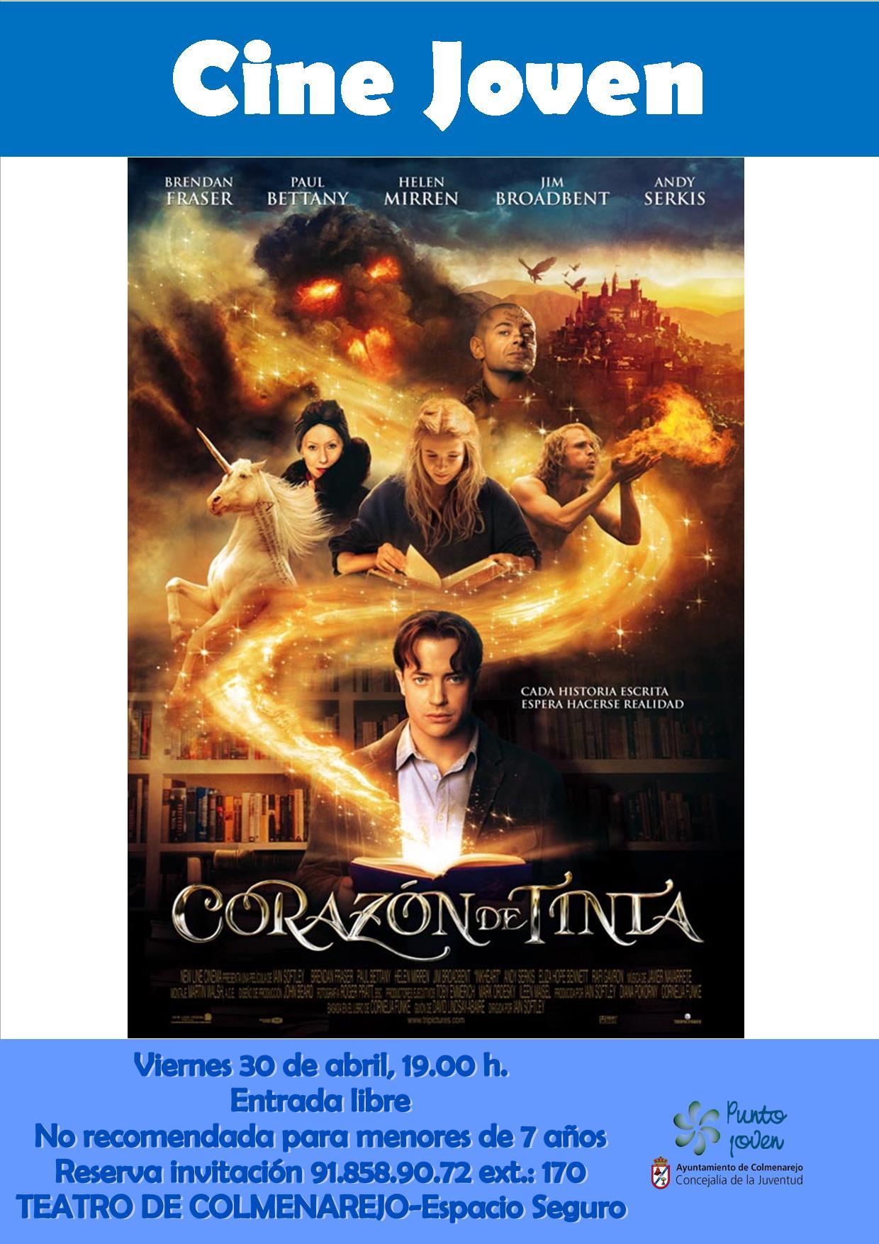 Cine Joven: CORAZÓN DE TINTA @ Teatro de Colmenarejo