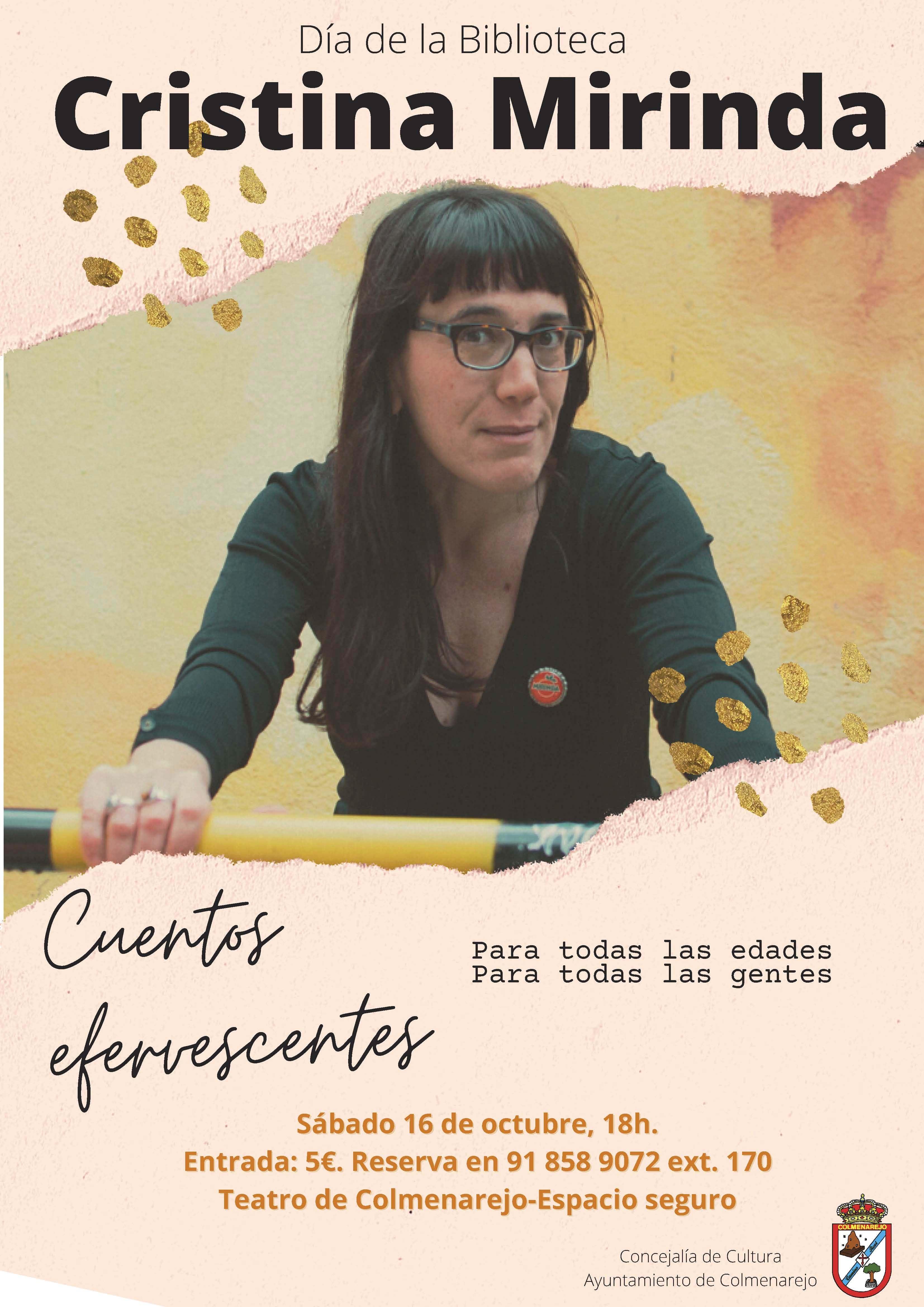 Narración cuentos: CRISTINA MIRINDA @ Teatro de Colmenarejo