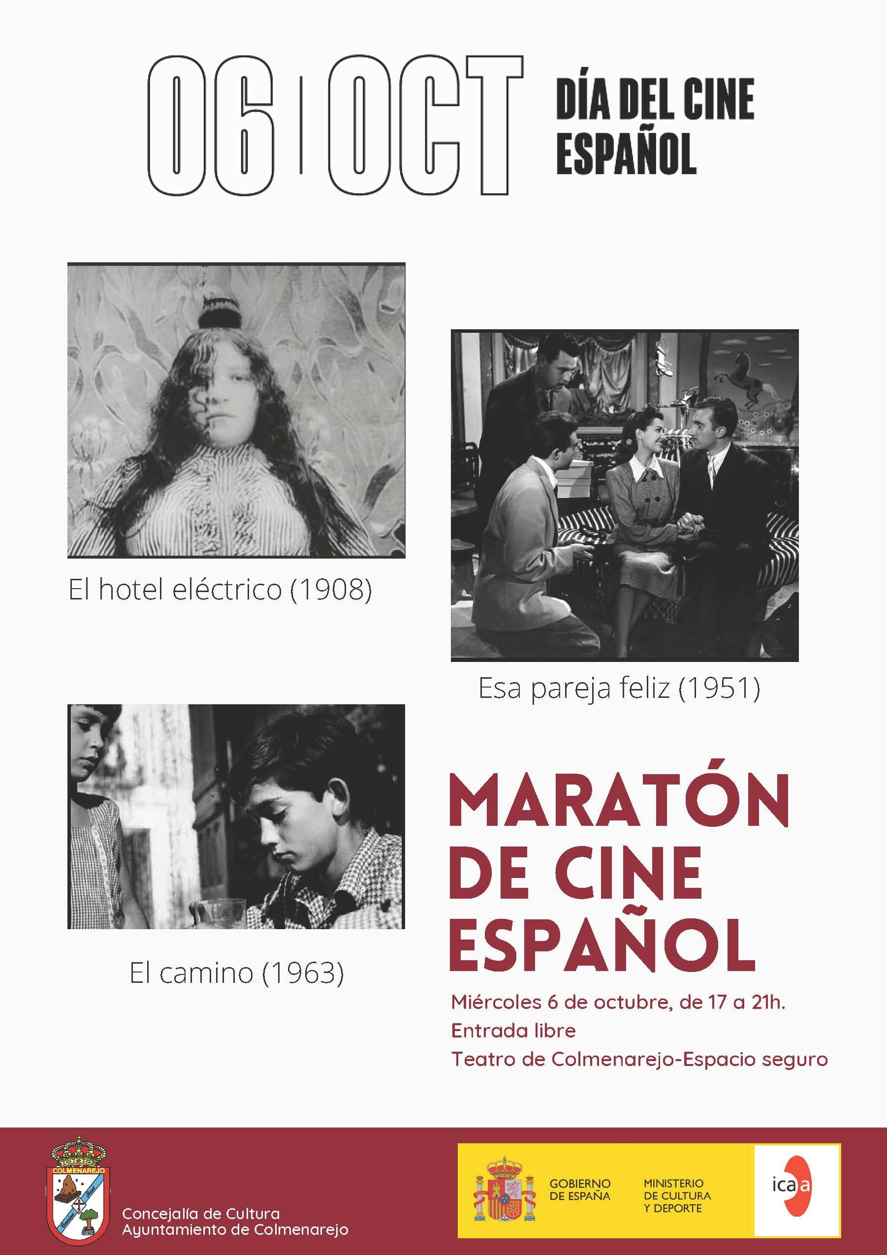 Cine: MARATÓN DE CINE ESPAÑOL @ Teatro de Colmenarejo
