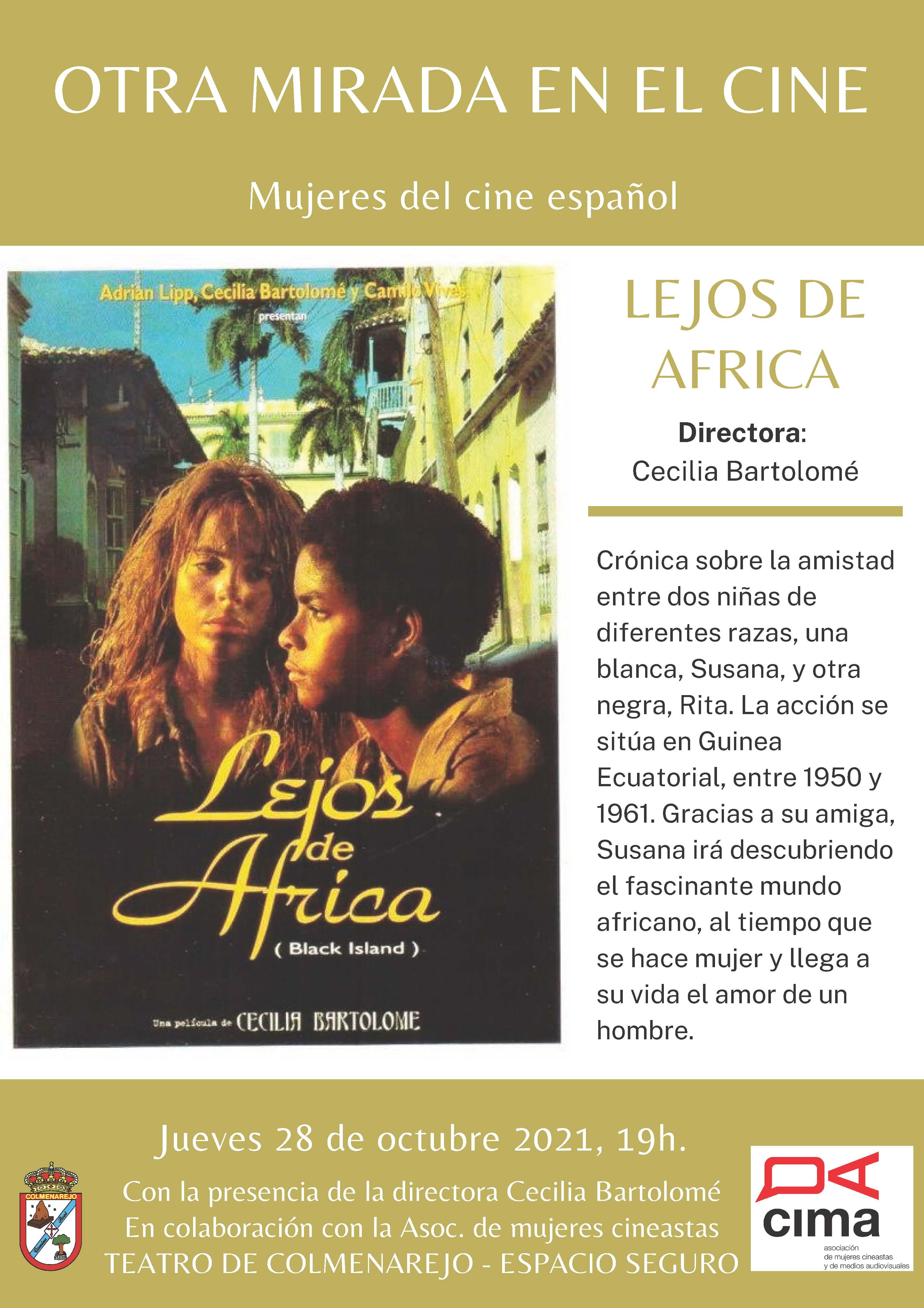 Cine: LEJOS DE ÁFRICA @ Teatro de Colmenarejo